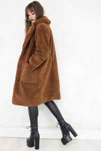 Brown Sugar Teddy Coat