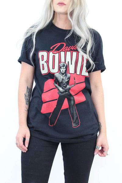 Bowie Saxophone Tee - little-lies-uk