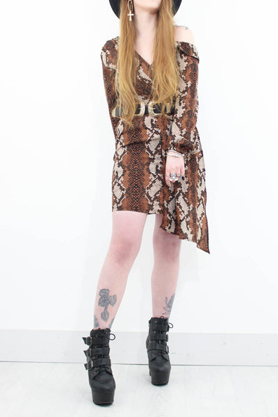 Heaven's On Fire Dress - little-lies-uk