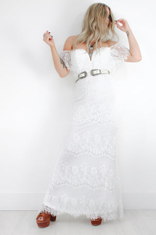Imagine Lace Maxi Dress