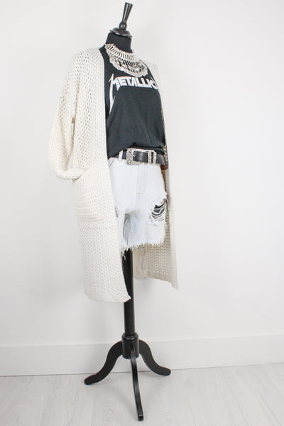 Little Wing Longline Cardigan