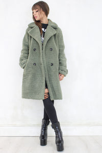 Bad Moon Rising Sage Coat
