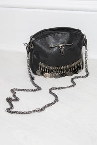Bison Skull Gypsy Coin Bag - little-lies-uk