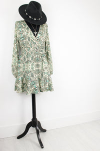 Travellin' Band Snake Wrap Dress