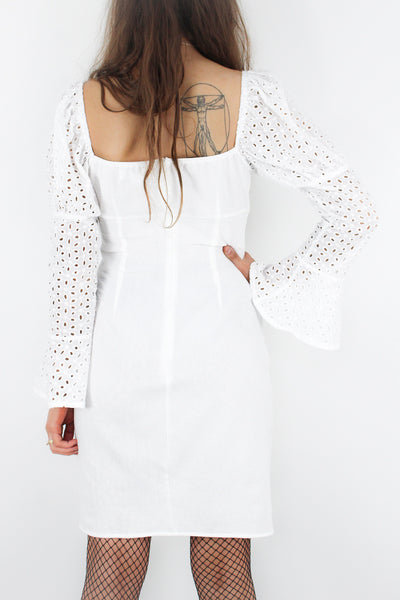 Back Down South Broderie Dress