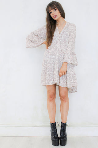 Going to California Smock Dress
