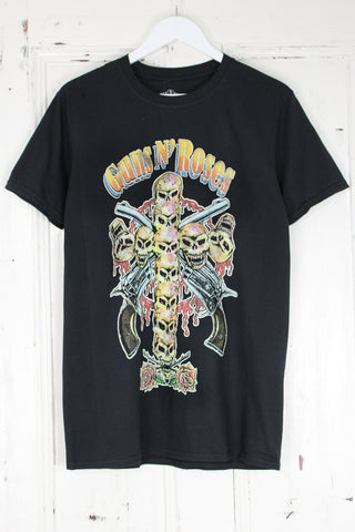 Guns N Roses Skull Cross Tee