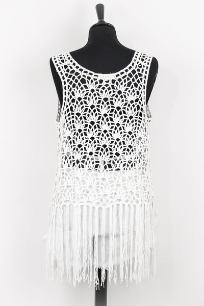 Aha Shake Heartbreak Crochet Top
