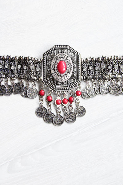Gypsy Jewelled Choker  - little-lies-uk