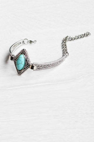 Turquoise Tribal Bracelet - little-lies-uk