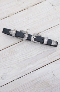 Western Buckle Choker - little-lies-uk