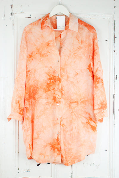Girl's Got Rhythm Tie Dye Shirt Dress