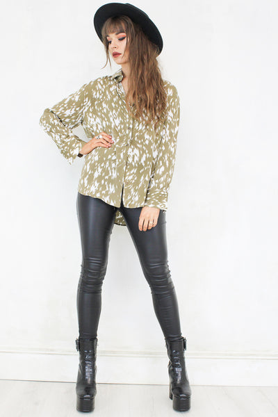 Double Vision Camel Shirt