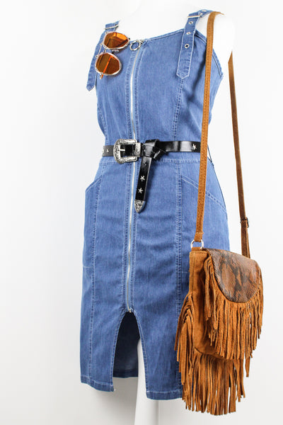 For You Blue Denim Dress