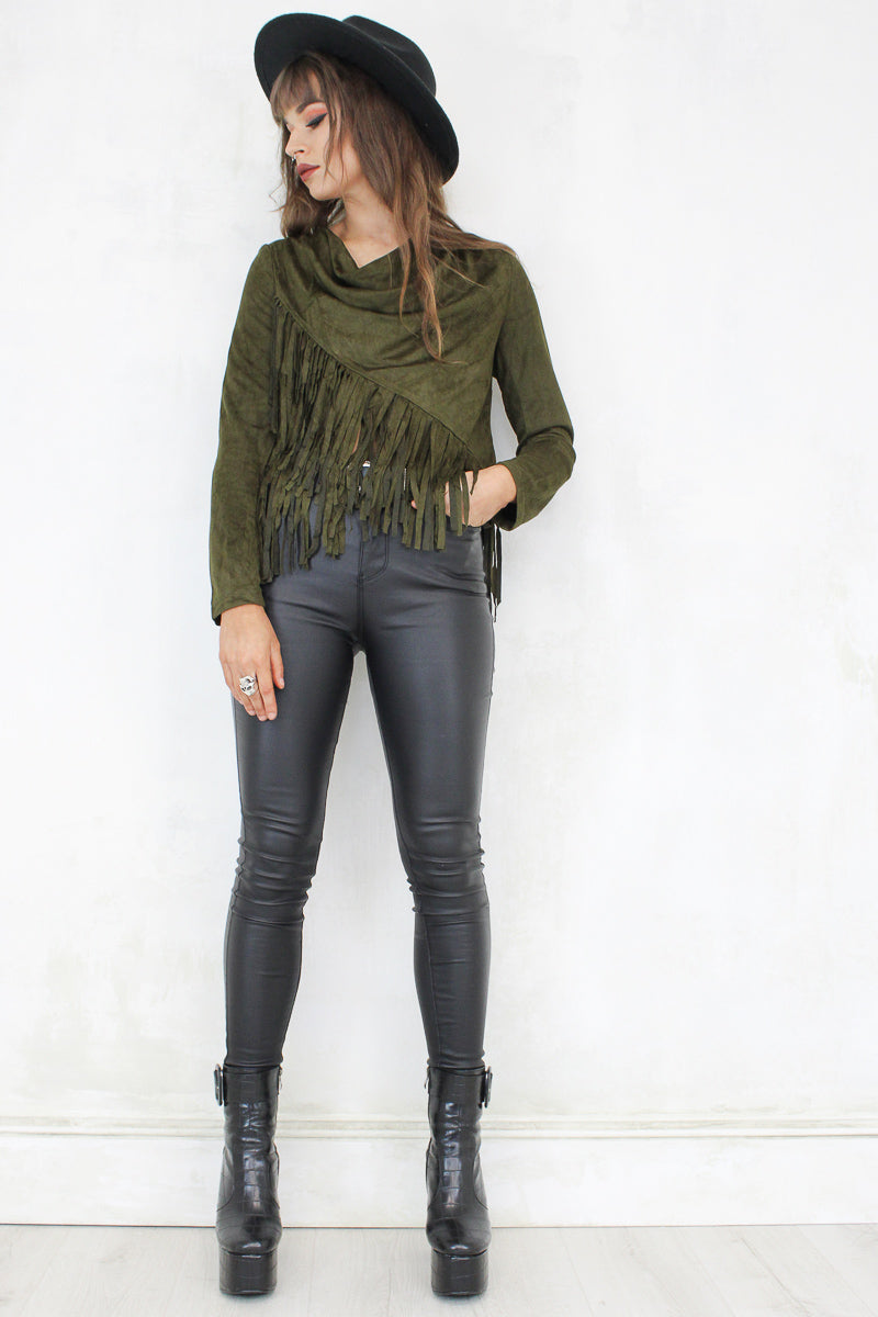 Mama Kin Fringed Top