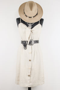 Going To California Linen Dress