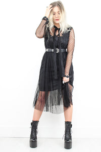 Blackhearted Love Midi Dress