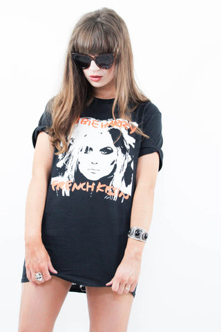 Debbie Harry French Kissin' Tee - little-lies-uk