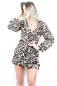 Arabella Leopard Dress