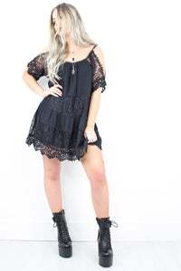 Arabella Lace Tunic Dress
