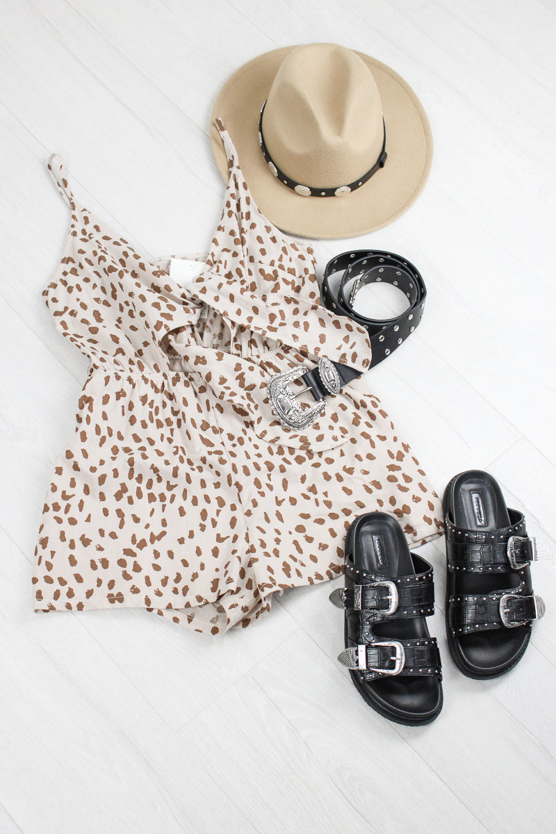 Ain't It Fun Dalmatian Playsuit