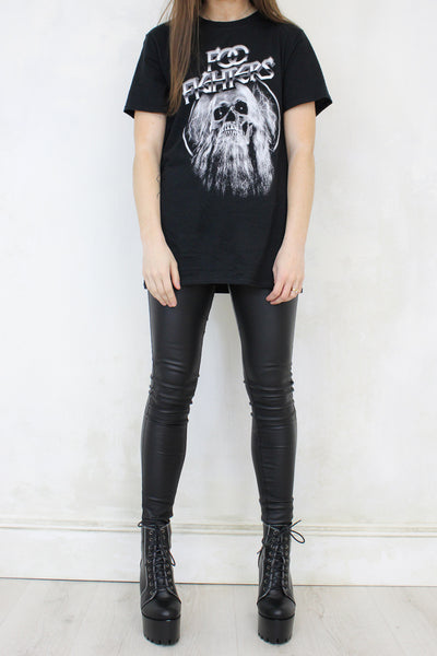 Foo Fighters Bearded Skull Tee