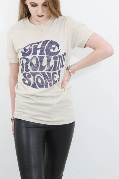 Retro Rolling Stones Tee - little-lies-uk