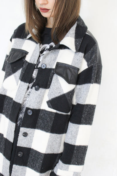 Urban Hymns Check Overshirt