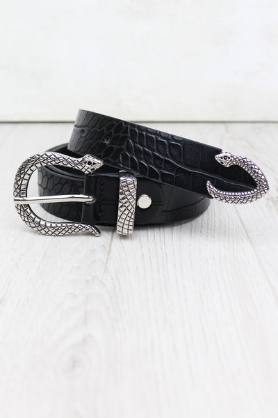Serpent Buckle Belt