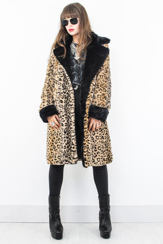 Honky Tonk Woman Leopard Coat