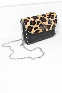 The Groover Leopard Ponyskin Bag - little-lies-uk