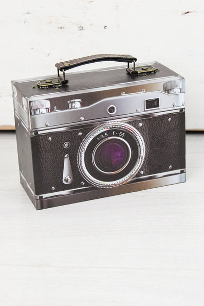 Retro Camera Storage Box