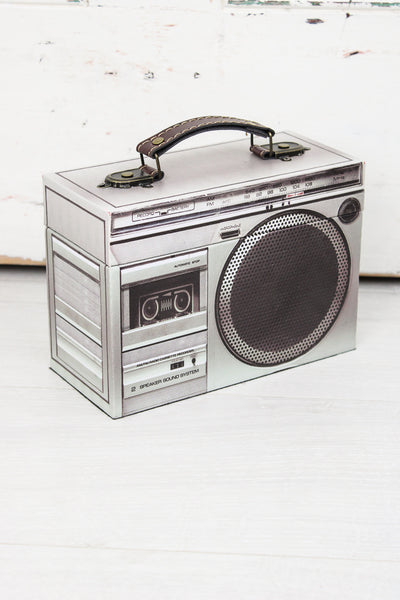 Retro Stereo Storage Box