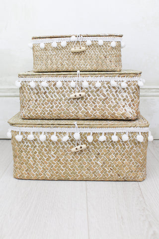 Rattan Storage Baskets