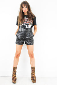 Shake Appeal Leather Shorts