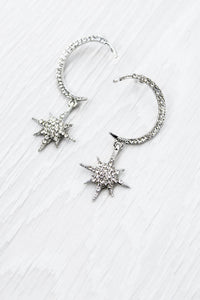 Silver Celestial Earrings - little-lies-uk