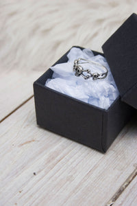Sterling Silver Triple Skull ring - little-lies-uk