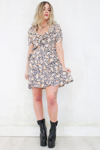 The Seeker Paisley Mini Dress