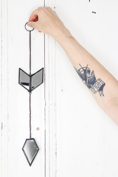 Hanging Mirrored Arrow