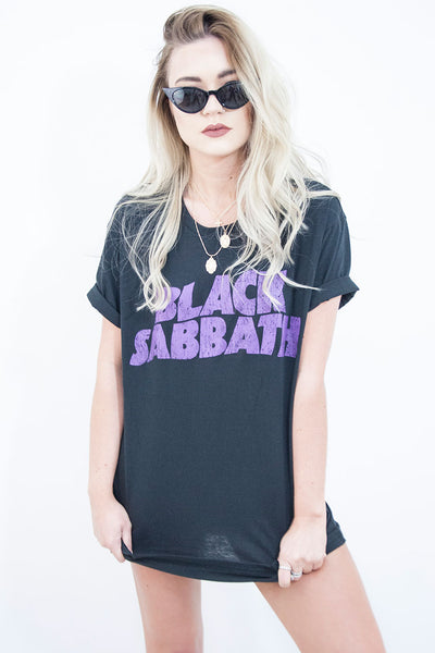 Black Sabbath Band Tee - little-lies-uk