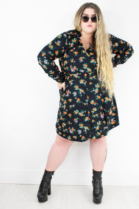 Highway Companion Floral Dress | Plus