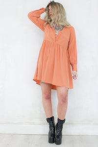 Moonage Daydream Smock Dress