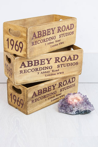 Abbey Road Storage Crate - little-lies-uk