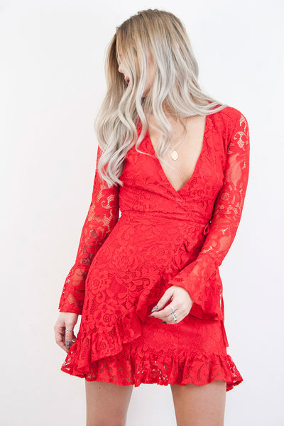 Lana Romance Lace Dress - little-lies-uk
