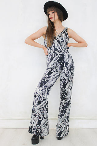 Ashes to Ashes Paisley Jumpsuit