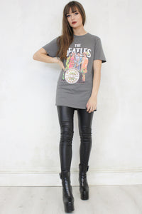 The Beatles Sgt. Pepper Grey Tee
