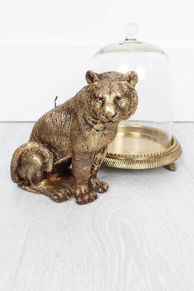 Gold Tiger Candle