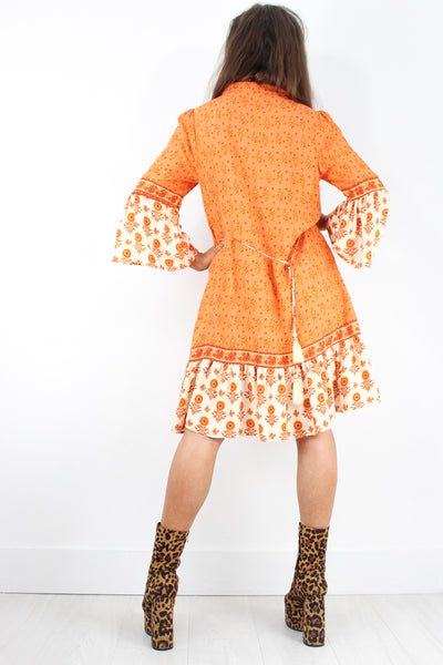 Tequila Sunrise Shift Dress
