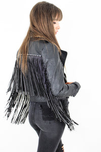 Raise Hell Fringed Biker Jacket