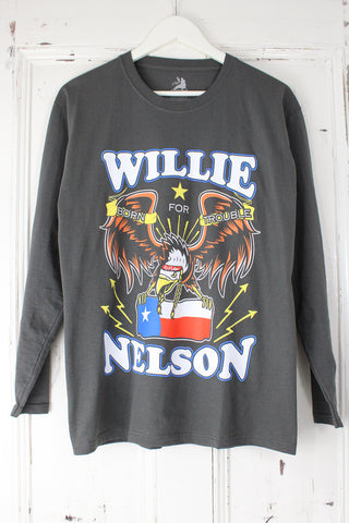 Willie Nelson Long Sleeve Tee